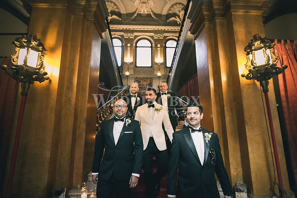 5. A Villa Erba Wedding - The Groomsmen.