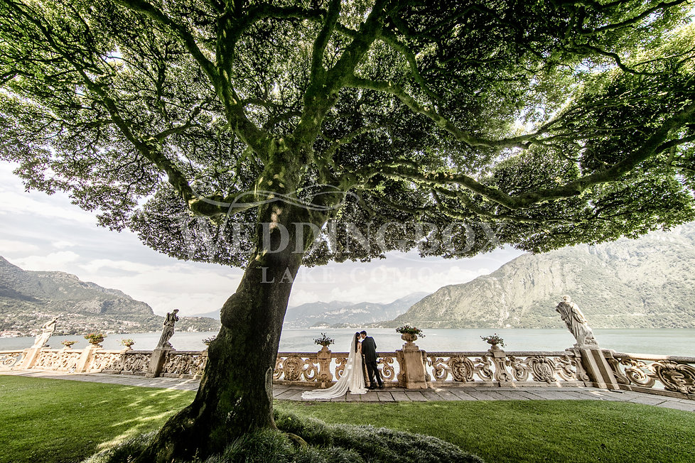 Villa del Balbianello wedding by Wedding