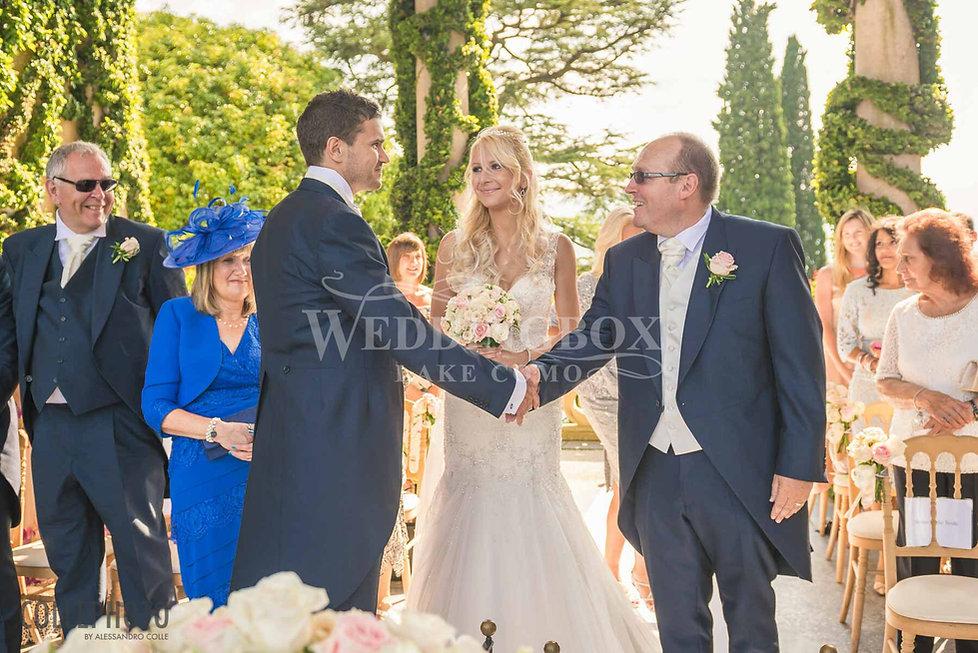 10. Romantic Villa Balbaianello wedding
