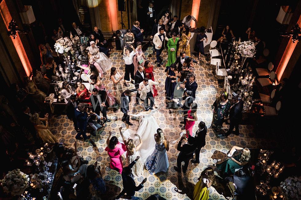 36. Party at Villa Erba. Luxury wedding