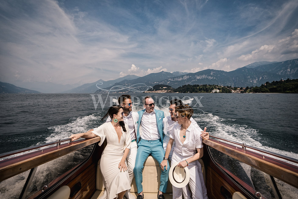 7. Getting to Villa Balbianello by riva