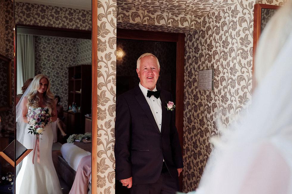 6. Father of the bride. Lake Como weddin