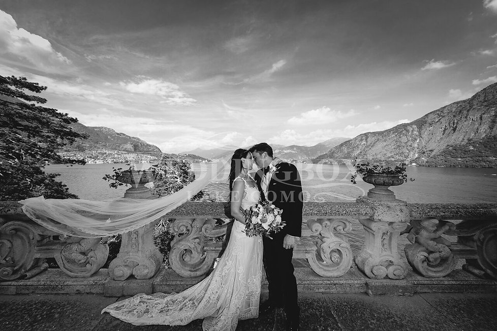Just Married! At Villa del Balbianello,