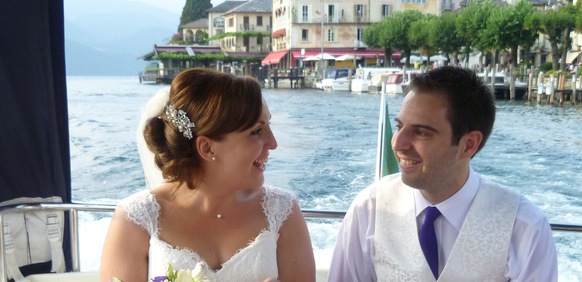 11. Speedy boat transfer for your weddin