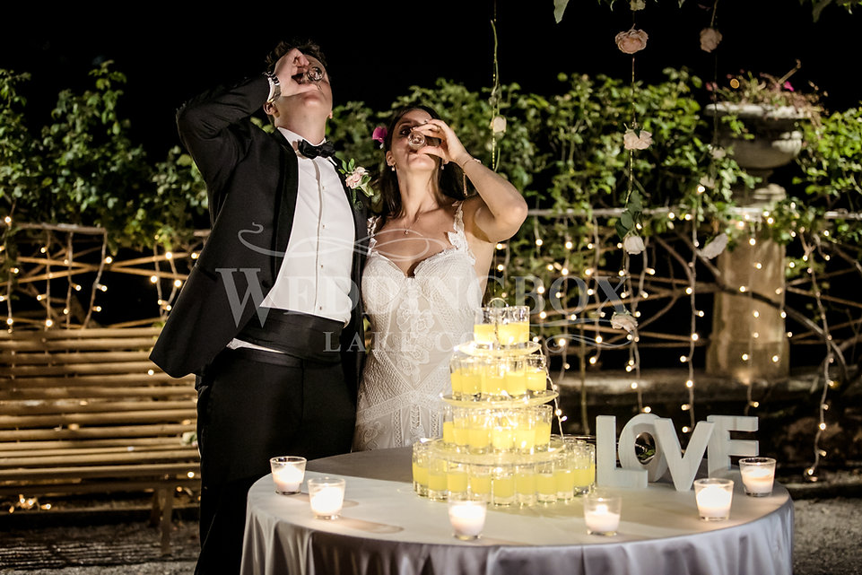 Wedding Cake with a difference Lake Como