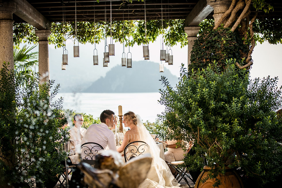 31. Romantic wedding venue Lake Como Vil