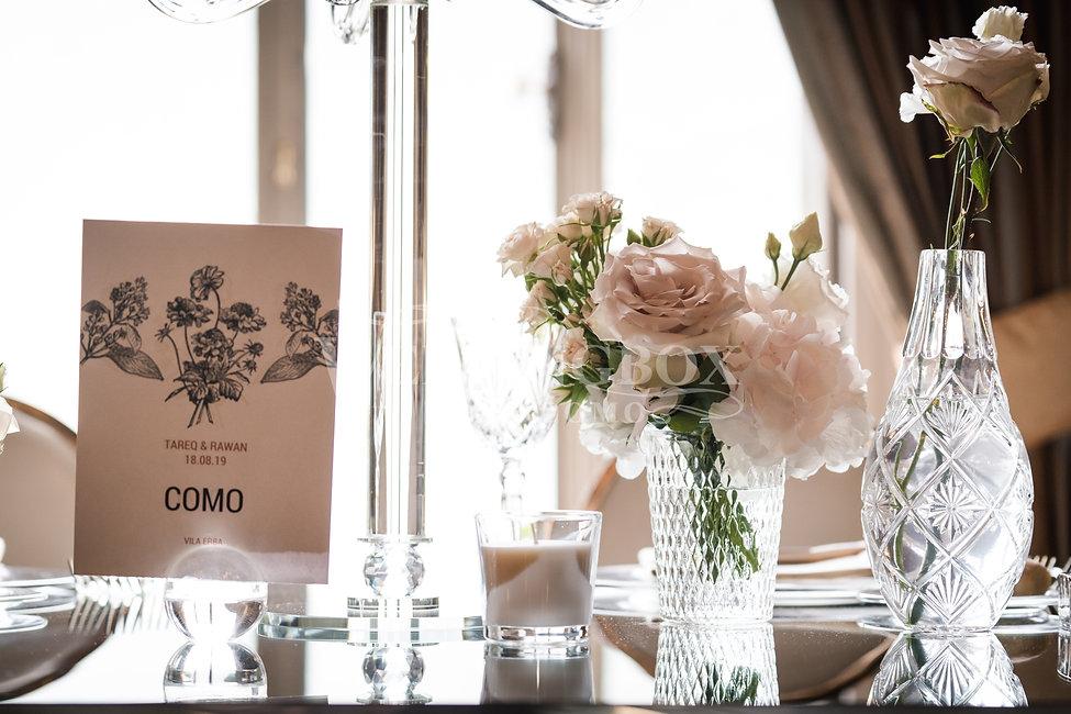 18 Crystal and glass wedding hire Lake C