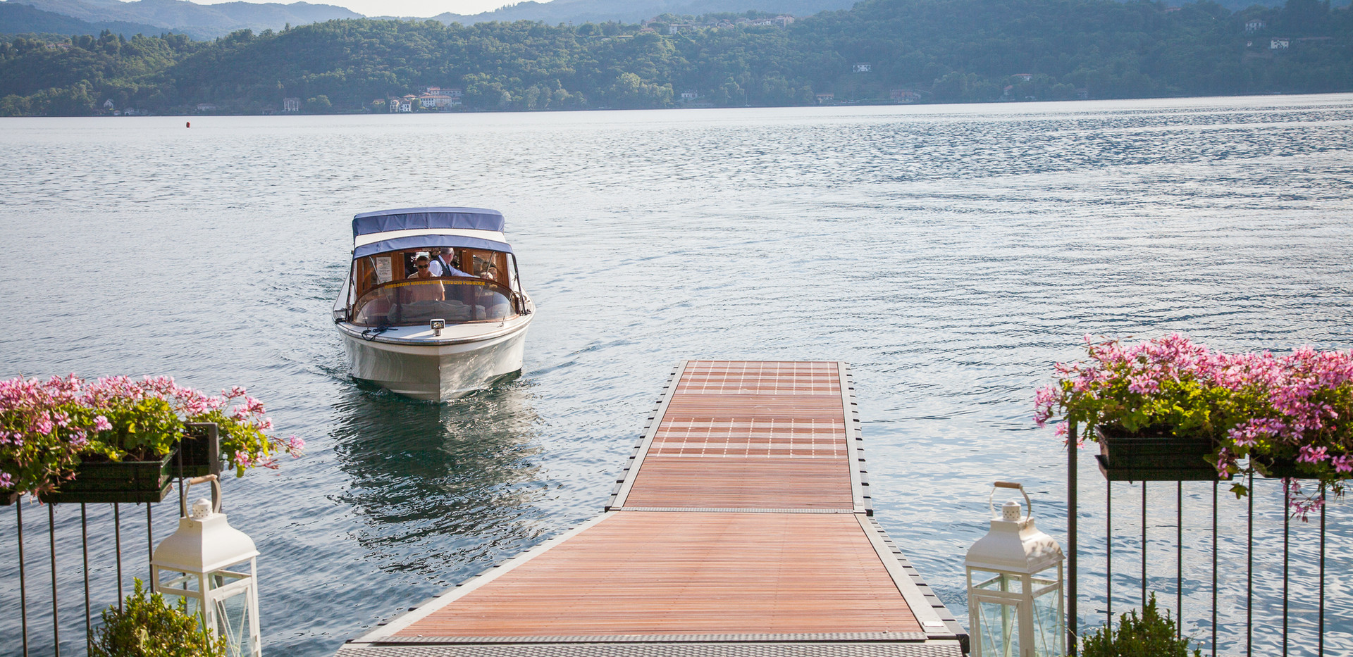 19. Ca dal Rat. Private dock for your we