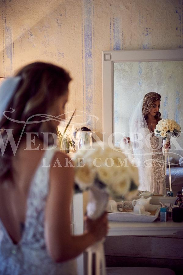 7. Romantic wedding at Villa Teodolinda