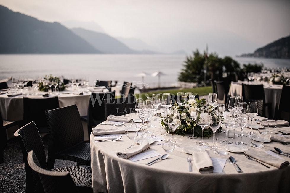 18. Stunning lake view dining at Villa L