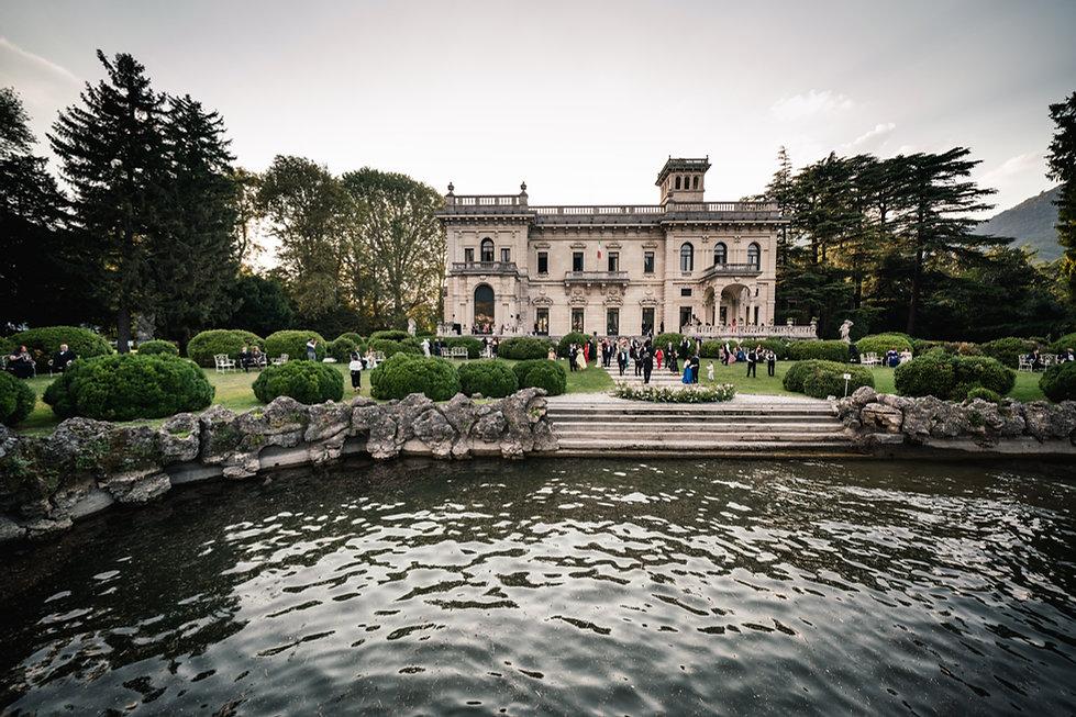 1. Dubai wedding on Lake Como at Villa E