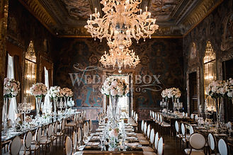 21. Grand dining at Villa Erba on Lake C