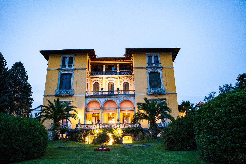 Villa Rusconi Clerici wedding party