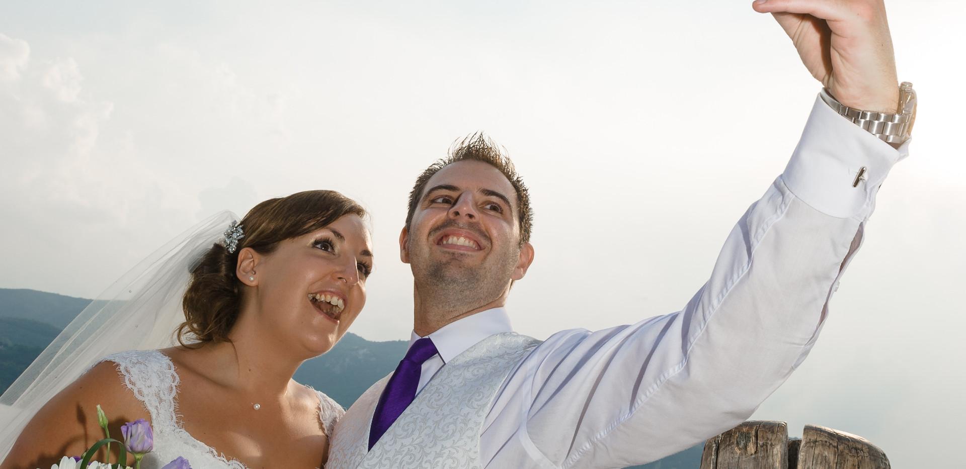 10. Selfie time! Villa Bossi wedding ven