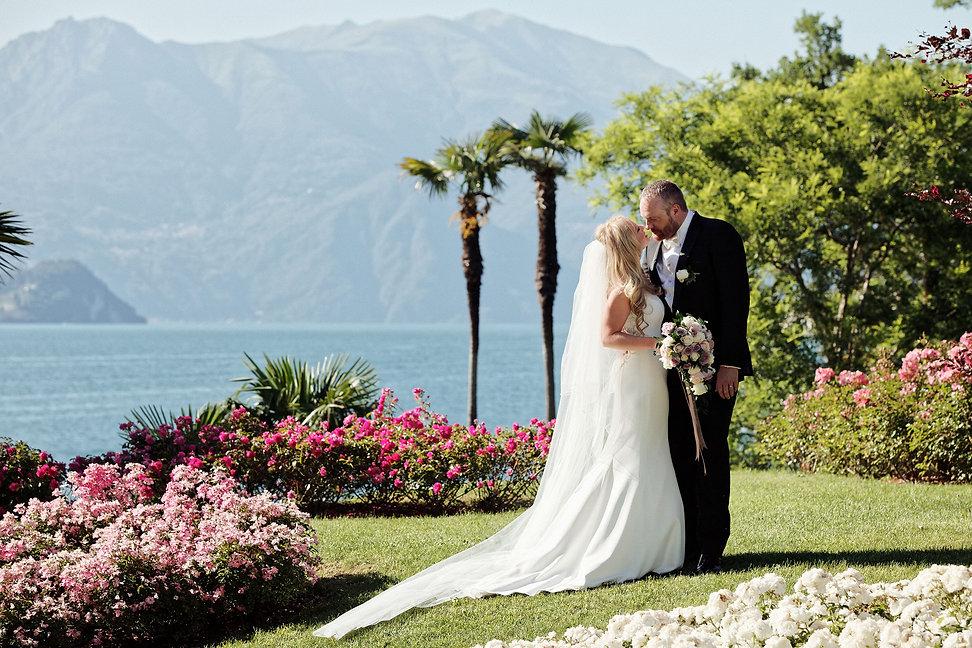 12. Lake Como romantic wedding at Villa