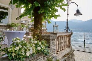 Restaurant Sottovento Lake Como wedding.