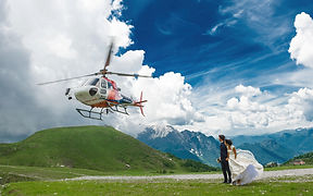 Helicopter Elopement Wedding Lake Como I