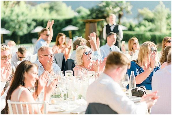 50. Speeches on Lake Como. Italy wedding