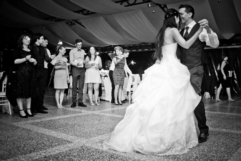 Villa Rusconi Clerici wedding dance.