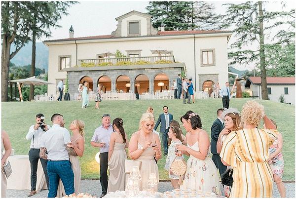 56. Villa Lario garden wedding with view