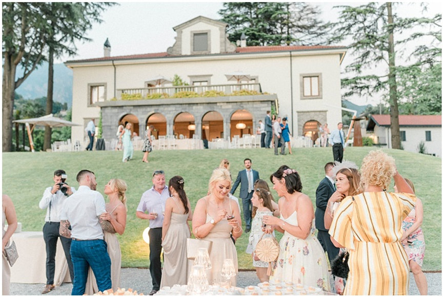 56. Villa Lario garden wedding with view
