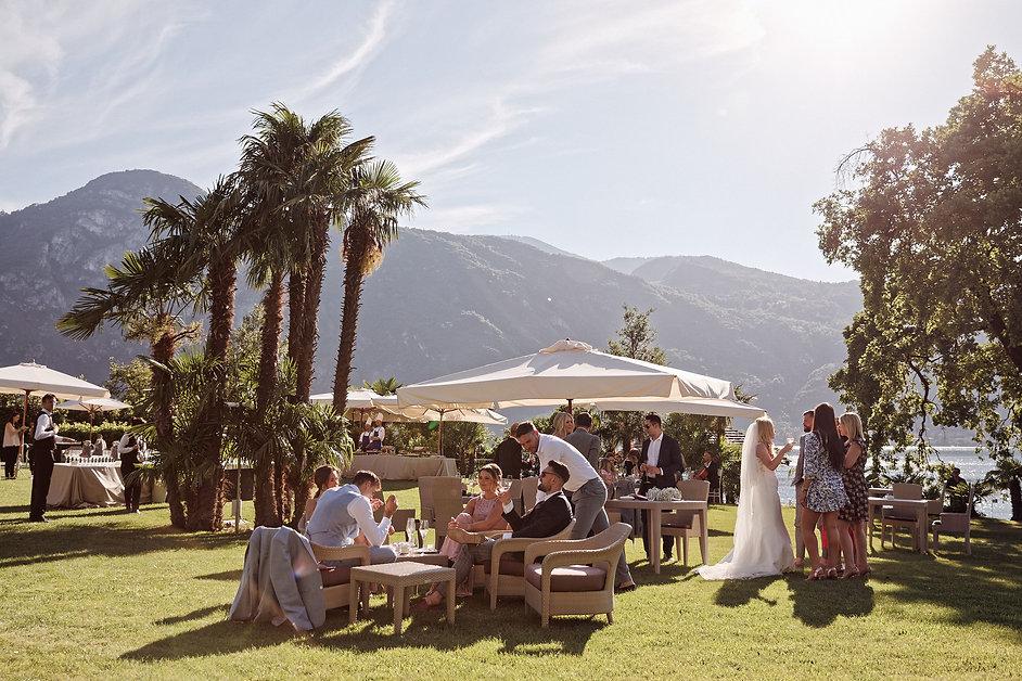 15. Welcome aperitivo at Villa Lario wed