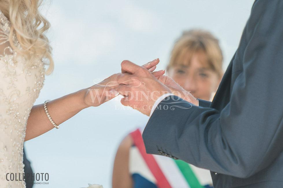 15. Exchange of rings. Villa Balbianello