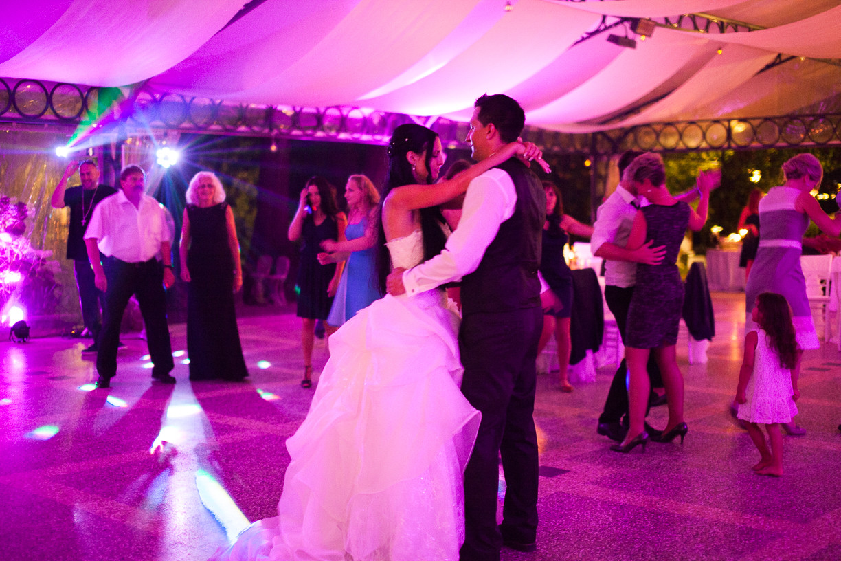 First dance in the pavilion at Vil