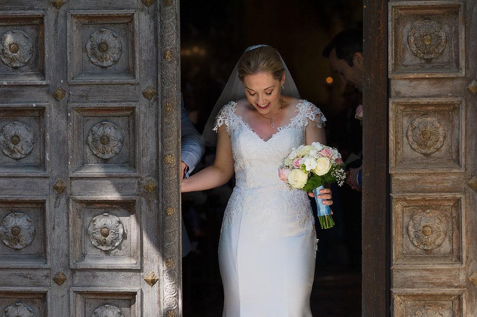 Bride at the church doorway.jpg