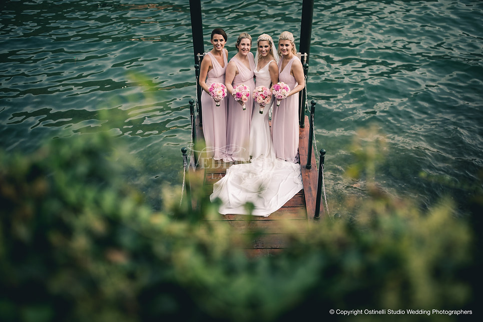 13_ Bride & Bridesmaid at Villa Vittoria