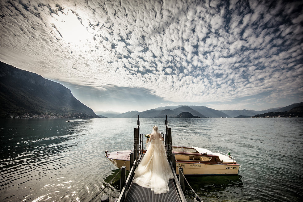 9. Bridal party boat, Varenna, Lake Como