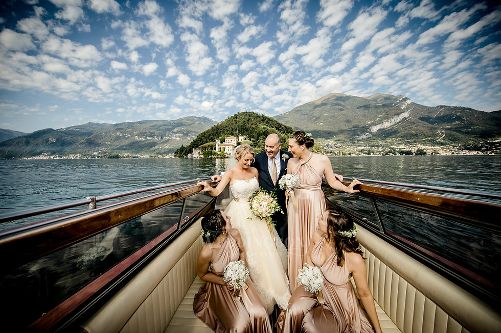 11. Wedding boat, water limousine on Lak