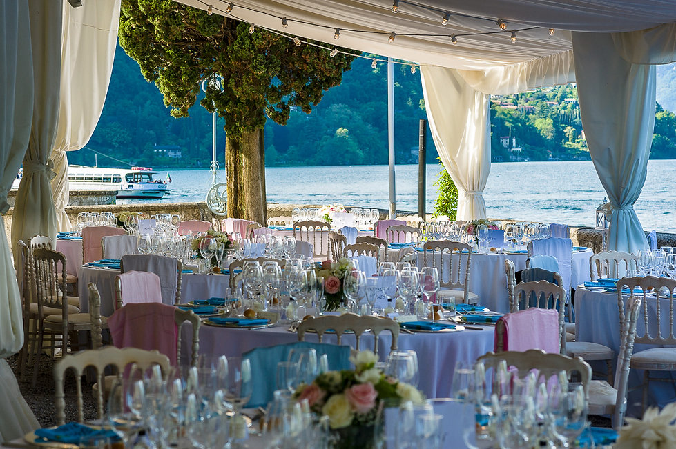 Private wedding villa venue on Lake Como