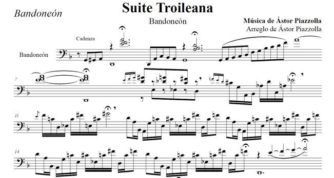 Suite Troileana - Bandoneón