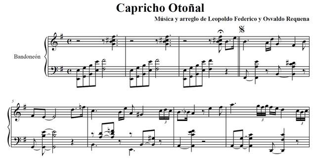 Capricho Otoñal
