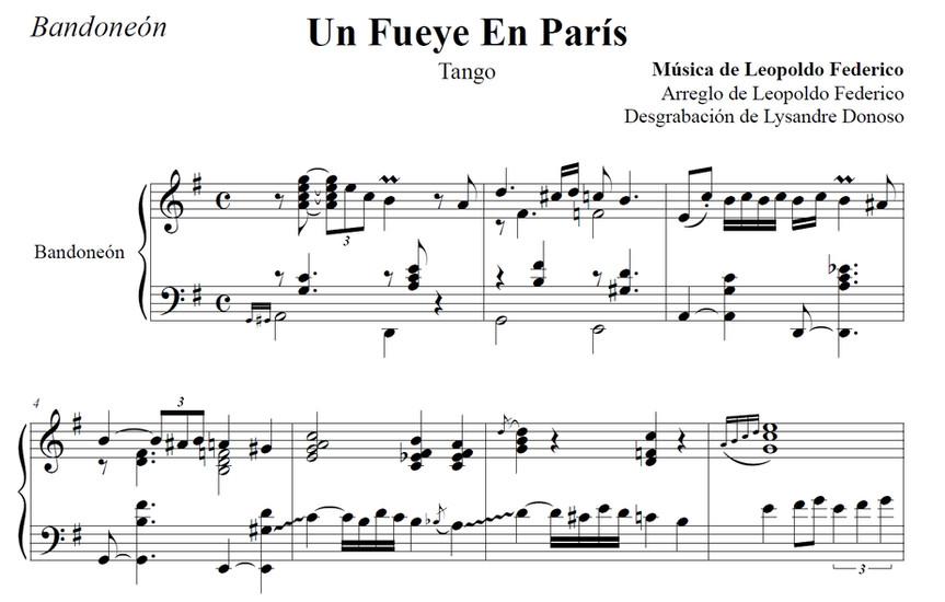 Un Fueye En París