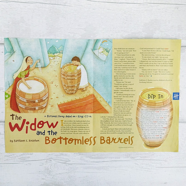 The Widow and the Bottomless Barrels