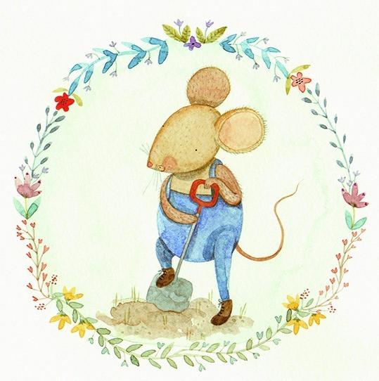 Gardening Mouse