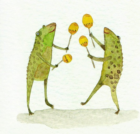 Frogs and Maracas