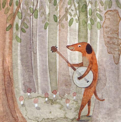 Dog and Banjo