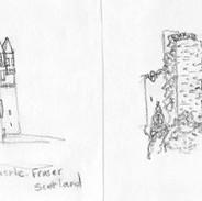 Castle Fraser and Castle Kennedy, Scotland