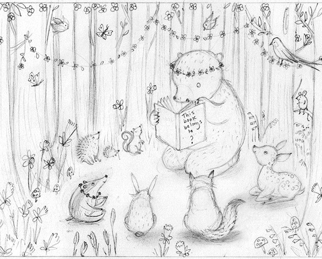 Storytime in Daffodil Woods