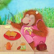 I Love my Mummy - Orangutan pic-nic