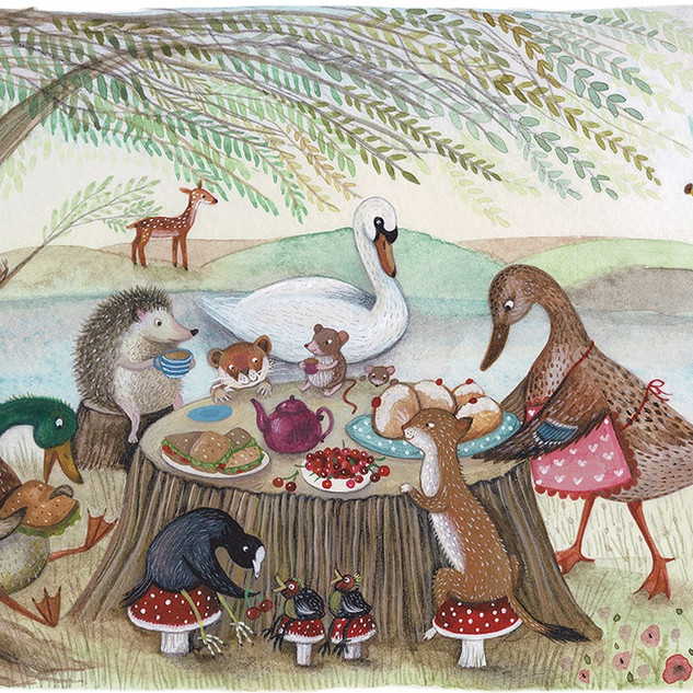 Tea Under the Willow Tree