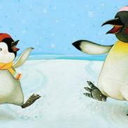 I Love my Mummy - Ice skating penguins