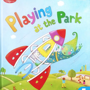 Playing at the Park - Front cover