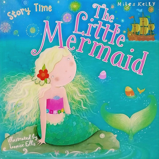 The Little Mermaid - Front cover