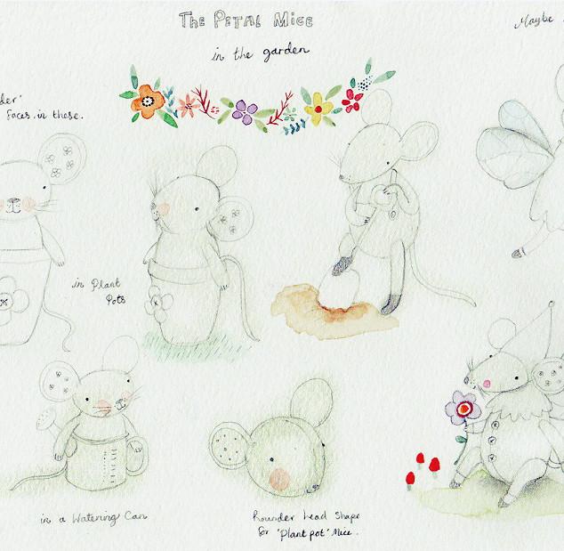 The Petal Mice