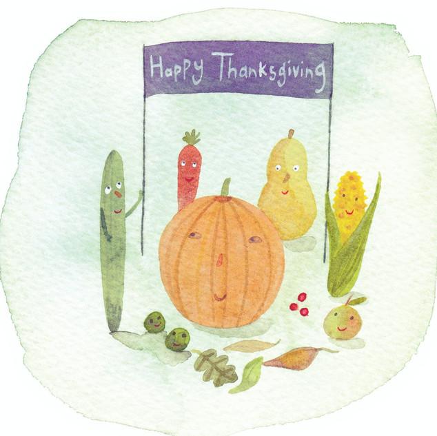 Thankful Vegetables