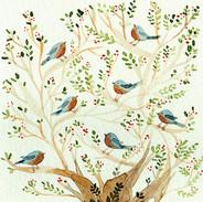 Seven Singing Robins
